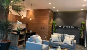 Estrategia Urbana : Estudios y oficinas de estilo  por GAIA