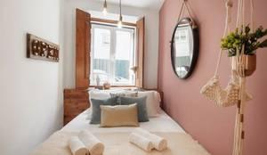 Zona de Dormir: Quartos  por Rafaela Fraga Brás Design de Interiores & Homestyling