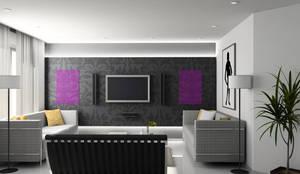 woonkamer verwarming:  Woonkamer door Heat Art - infrarood verwarming