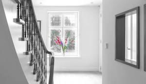 stairs:  Gang en hal door Dineke Dijk Architecten