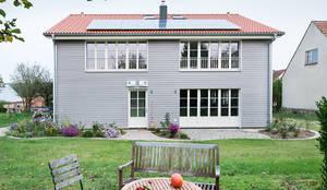 Mal raus aus der Stadt - Ferien auf dem Bauerhof:  Holzhaus von Müllers Büro,