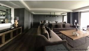 Sala de Estar : Salas de estilo  por Tk arquitectura
