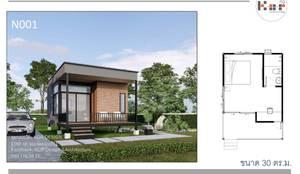Nhà nhỏ by Kor Design&Architecture