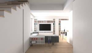 Ingresso: Ingresso & Corridoio in stile  di DUOLAB Progettazione e sviluppo