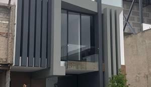 Punto Sur : Casas multifamiliares de estilo  por EBA Architecture & Desing ,
