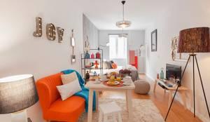 Sala : Salas de estar  por Rafaela Fraga Brás Design de Interiores & Homestyling