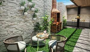 Jardín : Jardines de estilo  por PAR Arquitectos,