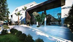 VERO CONCEPT MİMARLIK – Ares Shipyard (Ares Yatçılık) Ofis:  tarz Ofis Alanları