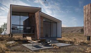 Ecoloft tipo 1: Casas ecológicas de estilo  por Diamante Arquitectura