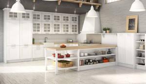 Renders 3d Mobiliario de Cocina: Cocinas de estilo  de Infografias 3D y Renders 3D Madrid