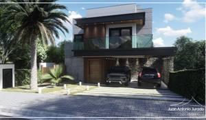 Fachada Moderna: Condomínios  por Juan Jurado Arquitetura & Engenharia,