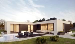 Prefabricated home by Casalium, Modern