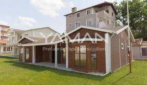 Prefabrik Ev (Yaman Prefabrik) – 106  m2 Prefabrik Ev:  tarz Prefabrik ev,