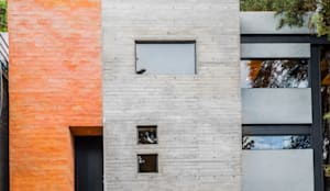 Loft 75: Casas pequeñas de estilo  por RAMLE Arquitectos, Moderno