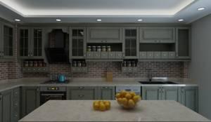 Mekgrup İç Mimari ve Dekorasyon – Klasik Mutfak Tasarımı:  tarz Mutfak, Modern