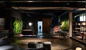 COLETIVO 284 - ENTRADA: Espaços comerciais  por Adriana Scartaris: Design e Interiores em São Paulo,