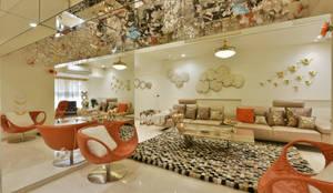 site at worli (mumbai):  Living room by Mybeautifulife,