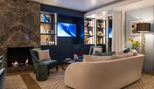 Sala: Salas de estar  por Inêz Fino Interiors, LDA,