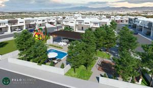 Palo Blanco Residencial: Casas de estilo  por VillaSi Construcciones,