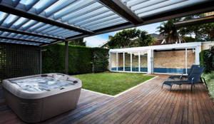 Jacuzzi für Garten:  Garten von SPA Deluxe GmbH - Whirlpools in Senden,