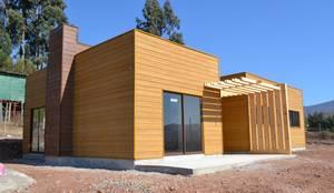 Vivienda Mediterráneo Nativa 85m2: Casas prefabricadas de estilo  por Casas Metal, Mediterráneo Aglomerado