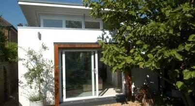 A modern bungalow built by London's 4D Studio