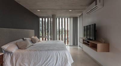 Colores para dormitorios modernos con notas invernales