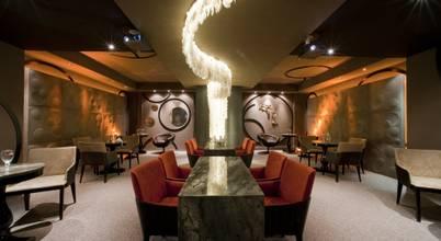 Projeto de interiores para Cervejaria Lounge com decoração criativa