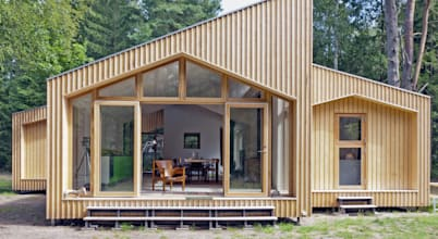 Wooden houses by Facit Homes