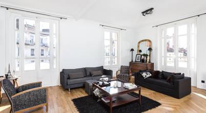 La rénovation d'un appartement dans le 6ème arrondissement de Lyon