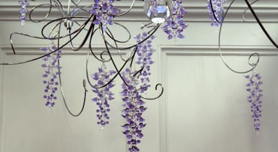 Neil Wilkin Bespoke chandeliers & Glass Sculpture