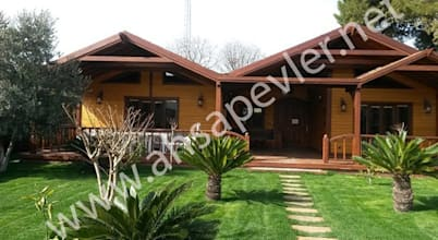 Design sostenibile a istanbul for Case in stile ranch in stile log cabin