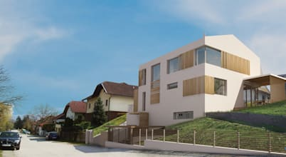 Besondere Satteldachhäuser in Wien