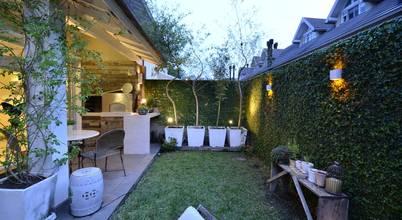 Jardins modernos por Tania Bertolucci  de Souza  |  Arquitetos Associados