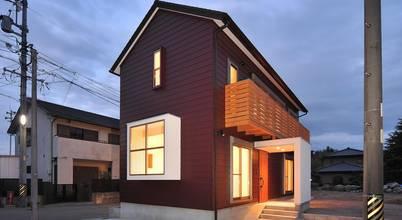 modern Houses by 若山建築設計事務所