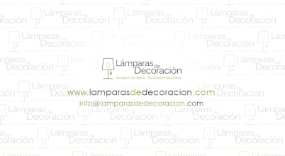 LÁMPARAS DE DECORACIÓN