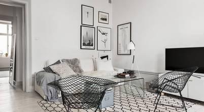 Decoración de livings con estilo escandinavo