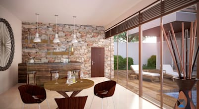 Distinctive Residence Design: eight methods to brighten with a stone-wall impact