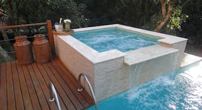 Wellness oases crafted in concrete: 6 inspiring Jacuzzis!