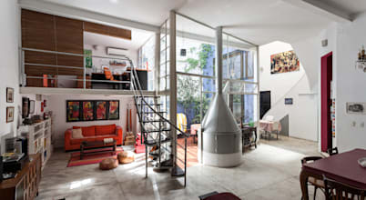 The bold aesthetics of an eclectic house