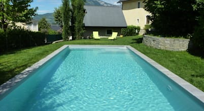399 piscines spas homify for Oplus piscine carcassonne