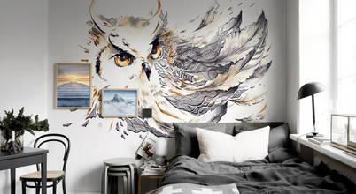عن سحر اللون الرمادي في غرف النوم
