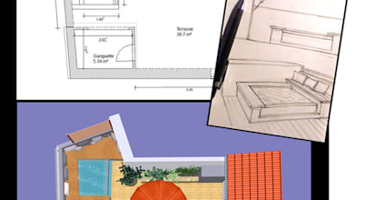 Paso a paso: La construcción de una bañera hidromasaje espectacular en una terracita