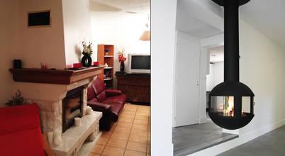 Comment moderniser une cheminée? L'exemple avec cette rénovation à Lyon