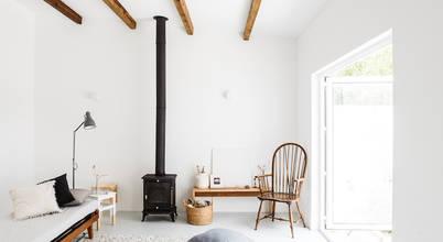 Ideias para salas de estar de estilo rústico