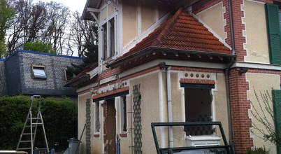 L'extension vraiment moderne d'une maison en banlieue parisienne