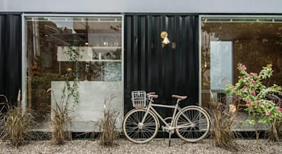 A container house that's modern and convenient