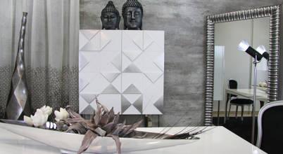 Beleza em tons de cinzento - uma sala onde apenas o tom é simples