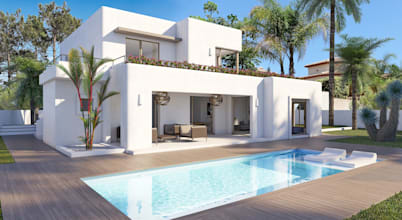 10 professionals homify for Blue square moraira