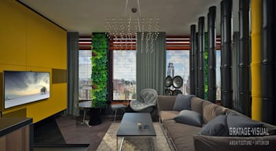 Gratage-Visual architecture interior